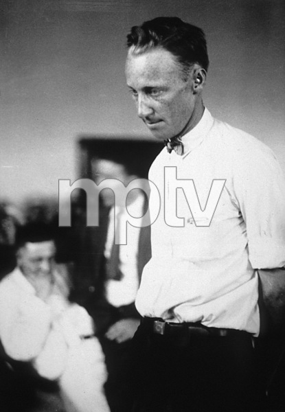 "John Thomas Scopes being sentenced at the ""Scopes/Monkey"" trial in Dayton, Tennessee1925**I.V. - Image 19886_0001"