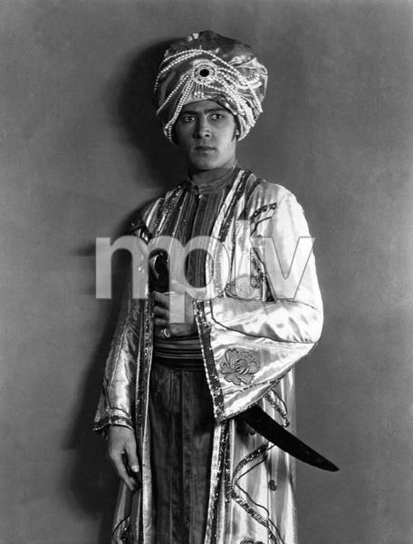 """THE YOUNG RAJAH"" Rudolph Valentino, Paramount, 1922, I.V. - Image 19963_0004"