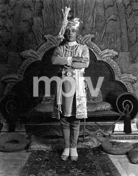 """THE YOUNG RAJAH"" Rudolph Valentino, Paramount, 1922, I.V. - Image 19963_0006"