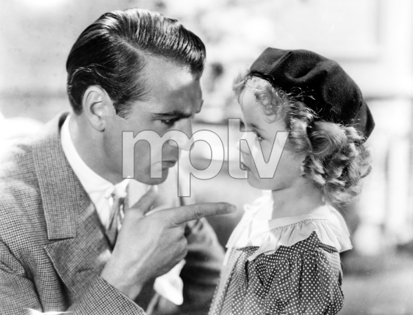 """""""Now and Forever"""" Gary Cooper, Shirley Temple1934 Paramount  **I.V. - Image 20000_0001"""