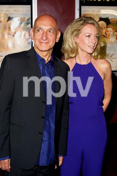 """Triumph of Love"" Premiere 4/11/02Ben Kingsley and girlfriend Alexander Christman © 2002 Glenn Weiner / MPTV - Image 20106_0102"