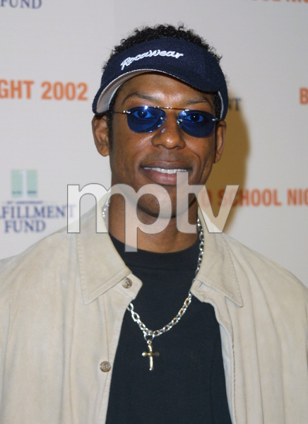 """Back to School Night 2002: 3rd Annual"" 3/09/02Orlando Jones © 2002 Glenn Weiner - Image 20115_0118"