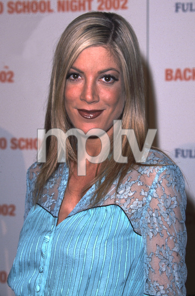 """Back to School Night 2002: 3rd Annual"" 3/09/02Tori Spelling © 2002 Glenn Weiner - Image 20115_0124"
