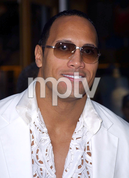 """The Scorpion King"" Premiere 4/17/02The Rock Dwayne Johnson © 2002 Glenn Weiner - Image 20119_0145"