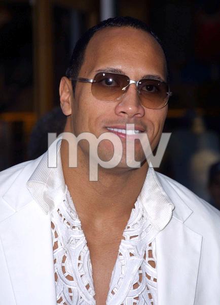 """The Scorpion King"" Premiere 4/17/02The Rock Dwayne Johnson © 2002 Glenn Weiner - Image 20119_0145"