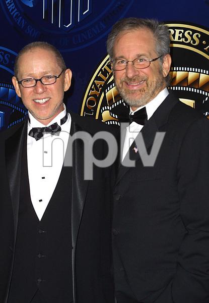 """""""Cinematographers Awards: 16th Annual""""2/17/02Steven Speilberg and Steven Poster © 2002 Scott Weiner - Image 20128_0108"""