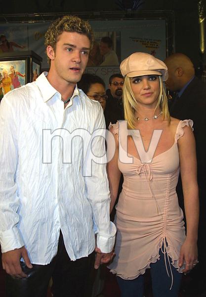 """Crossroads"" Premiere 2/11/02Justin Timberlake and Britney Spears © 2002 Glenn Weiner - Image 20133_0113"