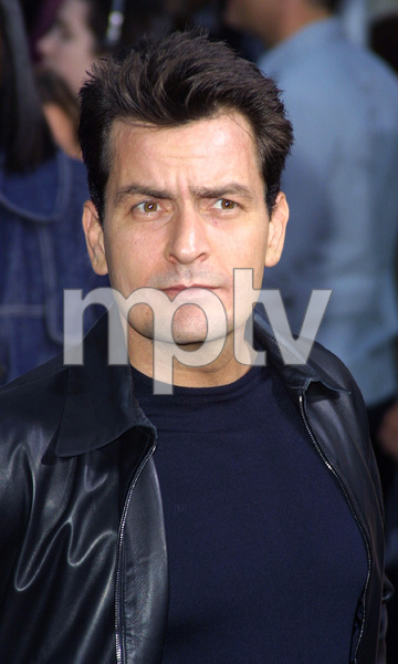 """Undercover Brother"" Premiere 5/30/02Charlie Sheen © 2002 Glenn Weiner - Image 20203_0106"