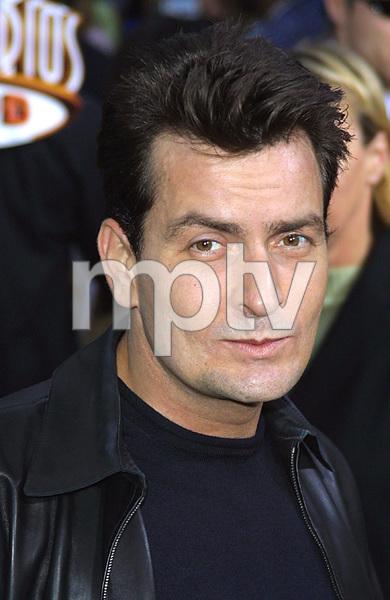 """Undercover Brother"" Premiere 5/30/02Charlie Sheen © 2002 Glenn Weiner - Image 20203_0108"