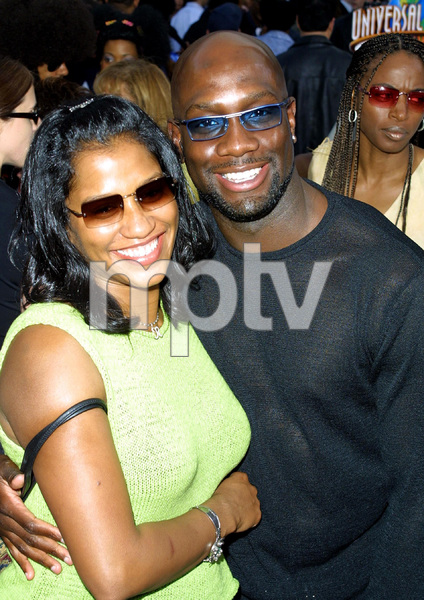 """Undercover Brother"" Premiere 5/30/02Richard T. Jones and wife © 2002 Glenn Weiner - Image 20203_0140"