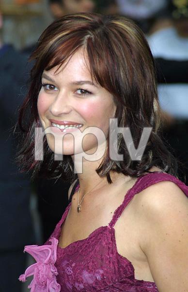 """Bourne Identity"" Premiere 6/06/02Franka Potente © 2002 Glenn Weiner - Image 20212_0118"