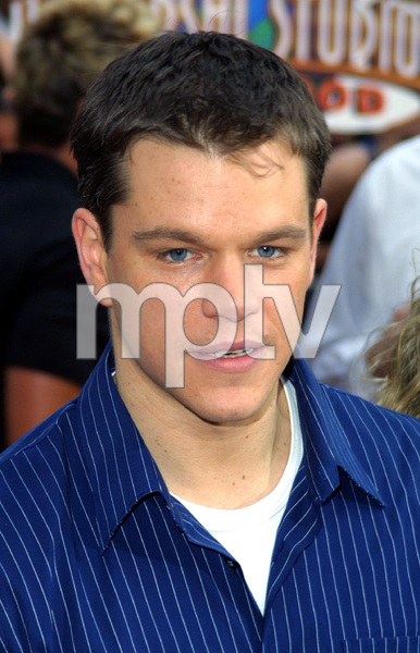 """""""Bourne Identity"""" Premiere 6/06/02Matt Damon © 2002 Glenn Weiner - Image 20212_0127"""
