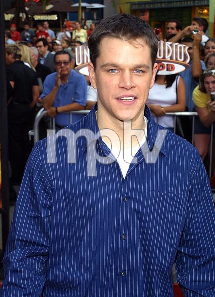 """""""Bourne Identity"""" Premiere 6/06/02Matt Damon © 2002 Glenn Weiner - Image 20212_0128"""