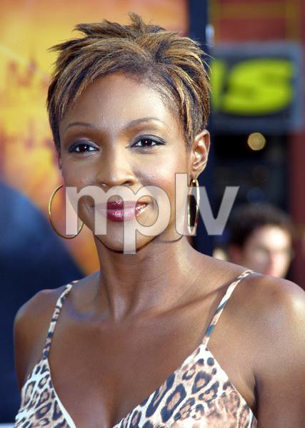 """""""Bourne Identity"""" Premiere 6/06/02Roshumba Williams © 2002 Glenn Weiner - Image 20212_0135"""