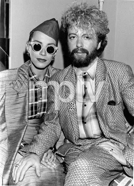 THE EURYTHMICS, Annie Lennox and Dave Stewart at ASCAP AWARDS, they won, 10/31/84, I.V. - Image 20227_0014