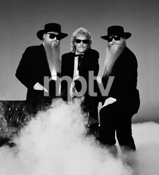 ZZ Top (Billy Gibbons, Dusty Hill, Frank Beard)1990 © 2009 Bobby Holland - Image 20257_0012