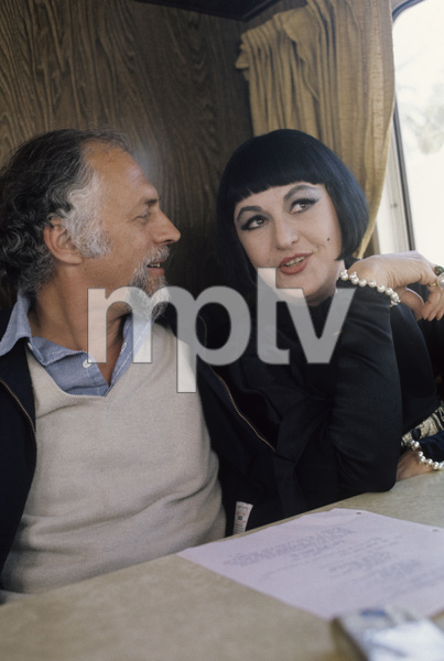 "Bea Arthur in her trailer doing the movie ""Mame"" with her husband / director Gene Saks1974 © 1978 Gunther - Image 2028_0106"