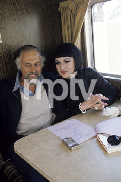 "Bea Arthur in her trailer doing the movie ""Mame"" with her husband / director Gene Saks1974 © 1978 Gunther - Image 2028_0107"