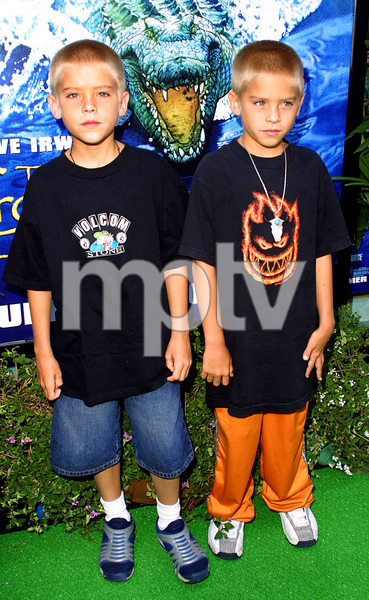 """""""The Crocodile Hunter: Collision Course"""" Premiere6/29/02Cole and Dylan Sprouse © 2002 Glenn Weiner - Image 20304_0102"""