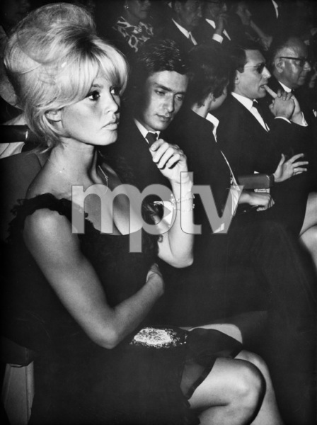 "Brigitte Bardotwith Samy Frey at the premiere of ""The Soldiers Rest"" in Paris France 1962 - Image 2043_0033"
