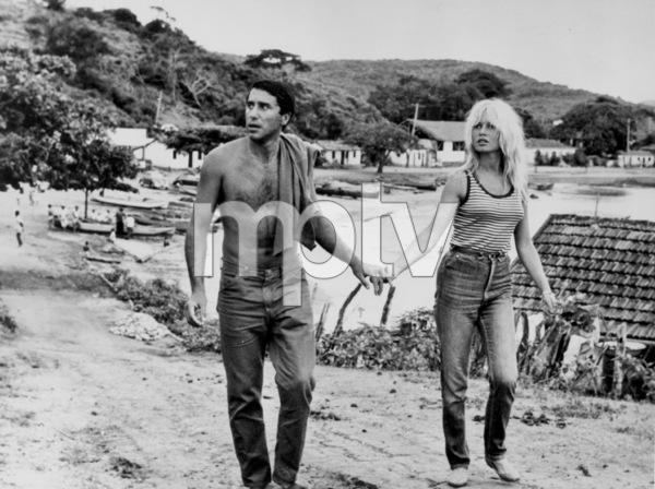 Brigitte Bardot w/ Bob Zaguriin Buzios, Brazil1964 - Image 2043_0070
