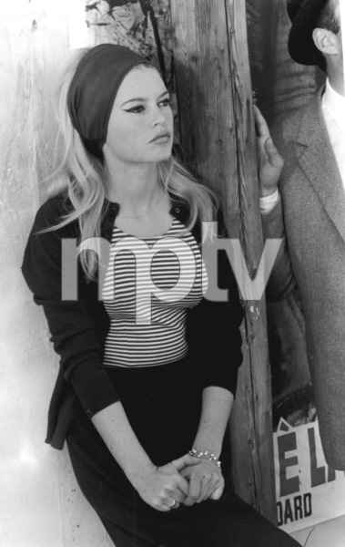 "Brigitte Bardot on the set of ""Contempt"" 1963**I.V. - Image 2043_0084"