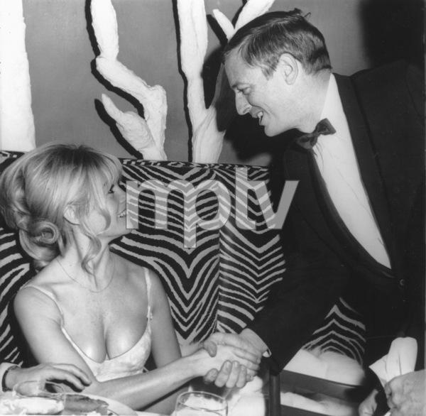 Brigitte Bardotwith William Buckley Jr. at El Morocco night clubDecember 18, 1965MPTV - Image 2043_0094
