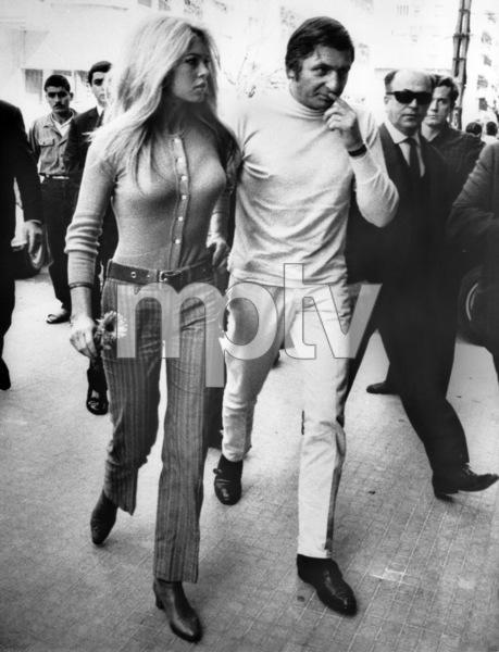 Brigitte Bardot with husband Gunter Sachs in Lebanon1967 - Image 2043_0164