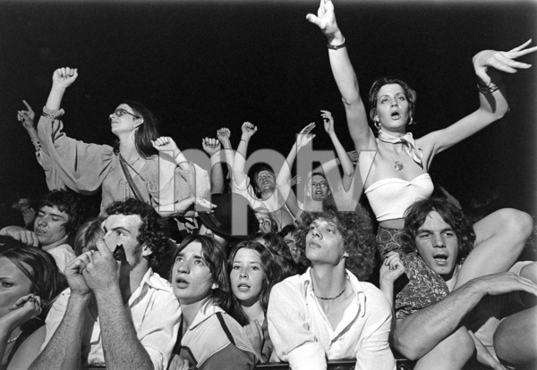 Aerosmith (fans) during their Rocks Tour in Atlanta, Georgia at the Omni ColiseumMay 22, 1976© 1978 Ron Sherman - Image 20468_0050