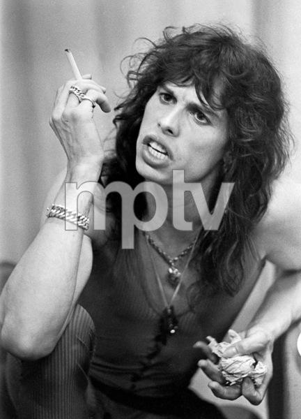 Aerosmith (Steven Tyler) during their Rocks Tour in Atlanta, Georgia at the Omni ColiseumMay 22, 1976© 1978 Ron Sherman - Image 20468_0053