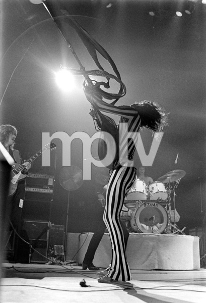 Aerosmith (Steven Tyler) performing during their Rocks Tour in Atlanta, Georgia at the Omni ColiseumMay 22, 1976© 1978 Ron Sherman - Image 20468_0057