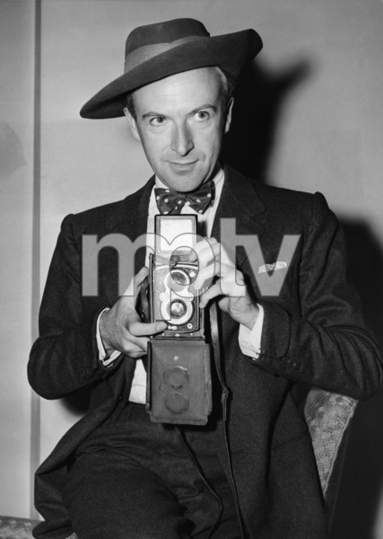 Cecil Beaton after returning from his stint as a World War II photographer 1944** I.V. - Image 2056_0003