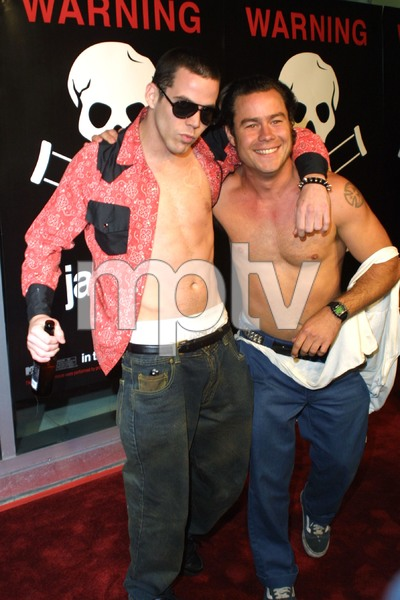 Jackass: The Movie PremiereJackass membersCinerama Dome Theater, Hollywood, California 10/21/02 © 2002 Glenn Weiner - Image 20646_0125
