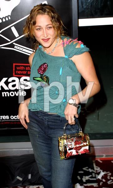 Jackass: The Movie PremiereJennifer BlancCinerama Dome Theater, Hollywood, California 10/21/02 © 2002 Glenn Weiner - Image 20646_0133