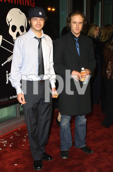 Jackass: The Movie PremiereDanny Masterson & Ben FosterCinerama Dome Theater, Hollywood, California 10/21/02 © 2002 Glenn Weiner - Image 20646_0155
