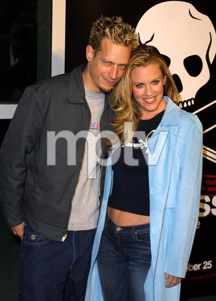 Jackass: The Movie PremiereJenny McCarthy & husband John AsherCinerama Dome Theater, Hollywood, California 10/21/02 © 2002 Glenn Weiner - Image 20646_0157
