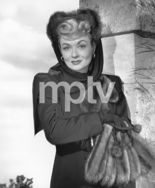 """Constance Bennettpublicity still for """"The Unsuspected""""1947Photo by Bert Six - Image 2067_0002"""