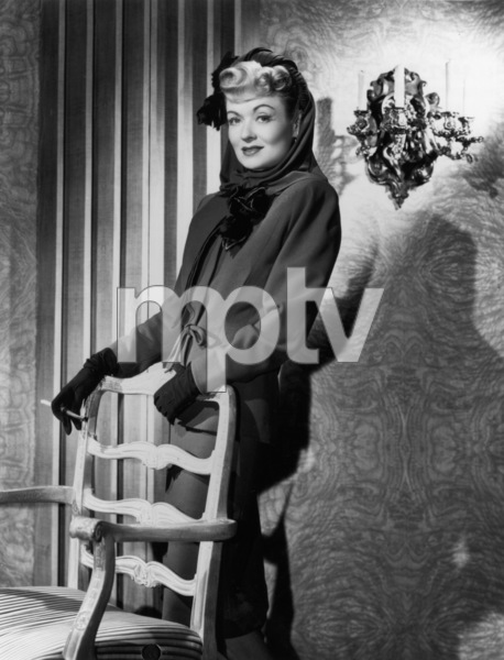 "Constance Bennett in ""The Unsuspected""1947Photo by Bert Six - Image 2067_0008"