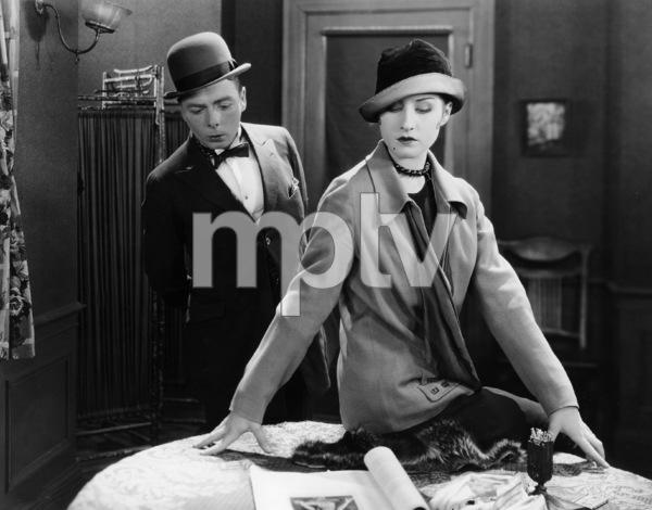 Norma Shearer, George K. Arthur, LADY OF THE NIGHT, Metro-Goldwyn, 1925, **I.V. - Image 20694_0001