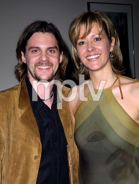 Josephine AwardsJohn Gunn & Kerry DavidLos Angeles Film School in Hollywood, California 11/1/02 © 2002 Scott Weiner - Image 20708_0112