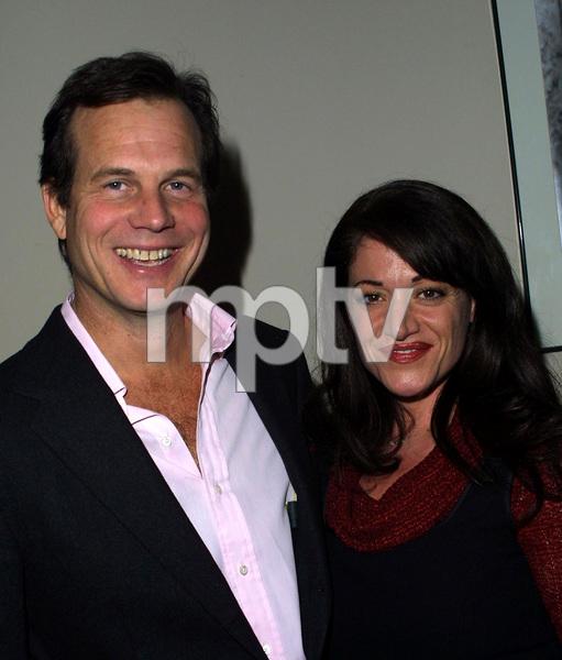 Josephine AwardsBill Paxton & Nadine HamdanLos Angeles Film School in Hollywood, California 11/1/02 © 2002 Scott Weiner - Image 20708_0125