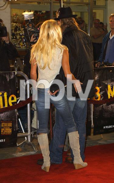 8 Mile PremierePamela Anderson & Kid RockMann Village Theater in Westwood, CA 11/06/02 © 2002 Glenn Weiner - Image 20716_0101