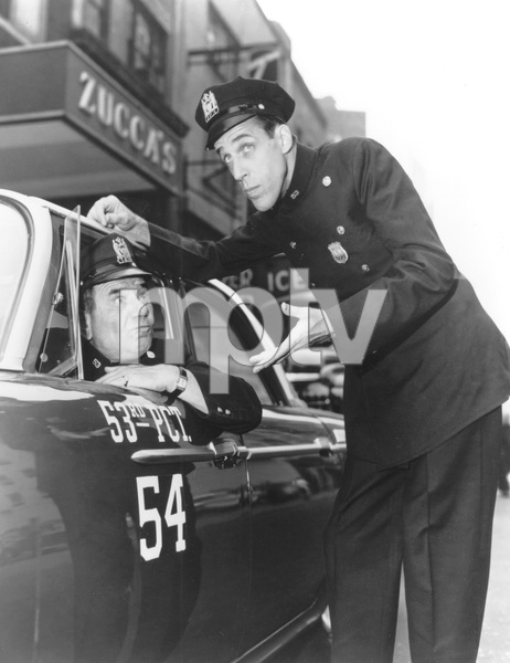 """Car 54, Where Are You?""Fred Gwynne and Joe Rosscirca 1961 - Image 20790_0004"