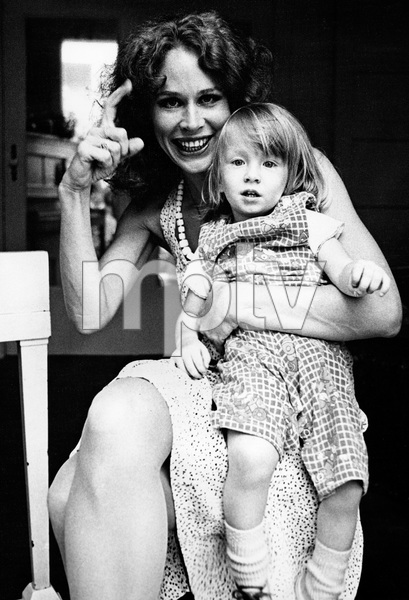 Karen Black and son Hunter at home1977 © 1978 Ulvis Alberts - Image 2085_0045