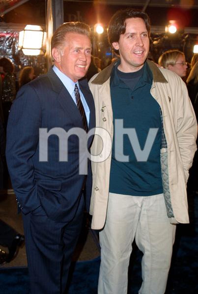 Catch Me If You Can PremiereMartin Sheen & son Ramon EstevezMann Village Theatre in Westwood, CA  12/16/02 © 2002 Glenn Weiner - Image 20853_0154