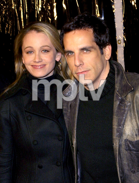 Narc PremiereBen Stiller & wife Christine TaylorAcademy of Motion Picture Arts & Sciences in Beverly Hills, CA.  12/17/02 © 2002 Scott Weiner - Image 20854_0151