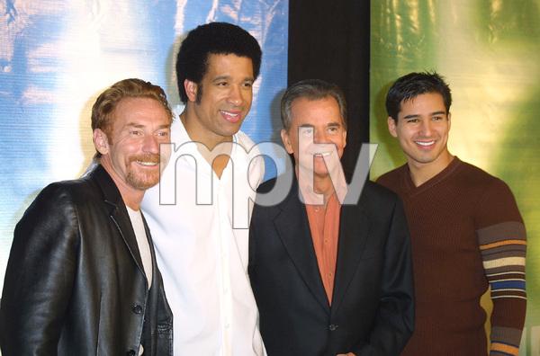 NBC Winter Press Tour PartyDanny B., Dorian Gregory,Dick Clark & Mario Lopez Bliss Club in Beverly Hills, CA   1/17/03 © 2003 Glenn Weiner - Image 20931_0174