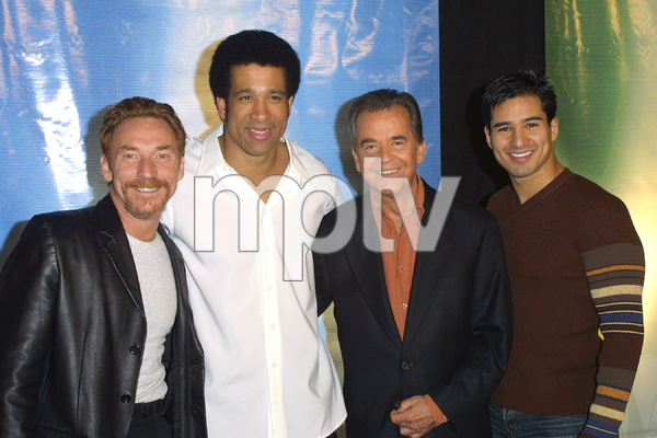 NBC Winter Press Tour PartyDanny B., Dorian Gregory,Dick Clark & Mario LopezBliss Club in Los Angeles, CA  1/17/03 © 2003 Scott Weiner - Image 20931_0277