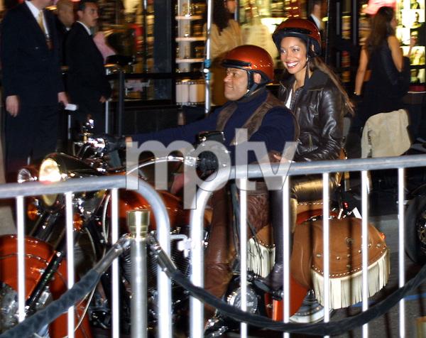Biker Boyz PremiereLawrence Fishburne & his wfe Gina TorresMann Chinese Theater in Hollywood, CA   1/28/03 © 2003 Glenn Weiner - Image 21019_0106