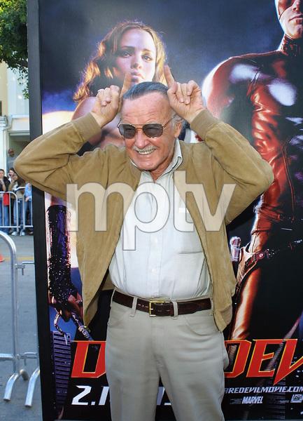 Daredevil PremiereStan LeeMann Village Theatre in Westwood, CA.   2/9/03 © 2003 Glenn Weiner - Image 21079_0171